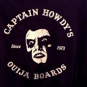 Horror The Exorcist Captain Howdy T Shirt XL